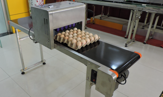 Need Small Size Egg Stamping Machine For Batch Number / Date / Time