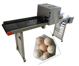 China Whole Plate Egg Inkjet Marking Machine With Thermal Foam Type Multiple Nozzle supplier