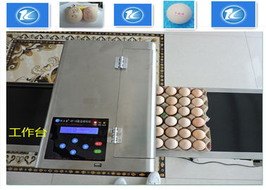 China High Resolution Egg Inkjet Date Code Printer With No Need Clean Nozzle supplier