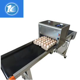 China 1 - 4 Printing Lines Egg Marking Equipment With Green / Red Food Grade Ink supplier