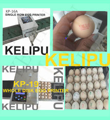 China High - Efficiency Egg Inkjet Coding Printer With 2mm - 9mm Printing Word Height supplier