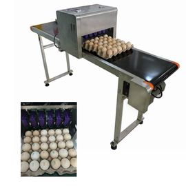 China Industrial Software Operation Egg Printing Machine , HD Inkjet Printer For Eggs supplier