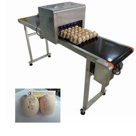 China Egg Automatic Batch Coding Machine Printing 120000 Characters Per Hour supplier