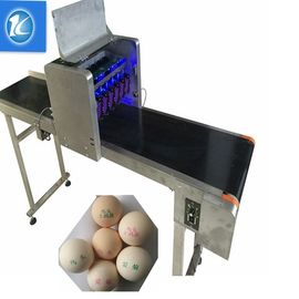 China Large Characters Egg Batch Coding Machine With USB External Database Printing supplier