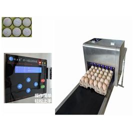 China Full Automatic  Egg Continuous Inkjet Printer With 600 DPI Printing Resolution supplier