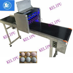 China 6 Nozzles Egg Inkjet Coding Printer With Standard Font Large Information Storage supplier