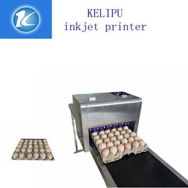 China Multiple Nozzle Egg Industrial Ink Jet Printer For Batch /  Serial Number supplier