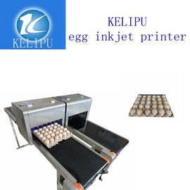 China Batch Number Egg Industrial Digital Printing Machines With High Efficient supplier