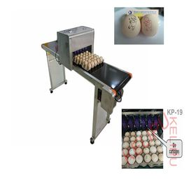 China Easy Operation Egg Industrial Ink Jet Printer , High Speed Inkjet Printer  supplier