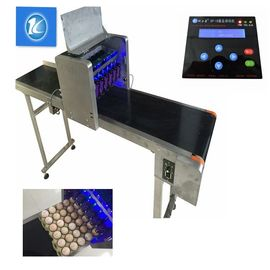 China 6 Heads Eggs Continuous Ink System Printer With Custom English / Chinese Font supplier