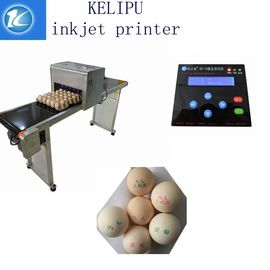 China High Performance Egg Marking Equipment With 0 - 5mm Printing Distance supplier