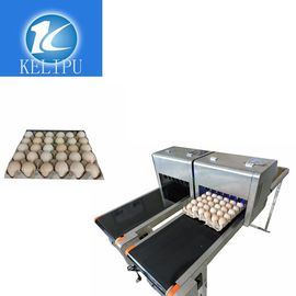 China Intelligent Safe Egg Stamping Equipment , Graphic Logo Making Machine For Eggs supplier