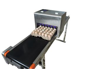 China Printer Ink Cartridge /  Eco Solvent Egg Label Printer / Continuous Printing Tray Egg Machine supplier
