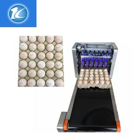 China Automatic Continuous Inkjet Batch Coding Machine / Egg Grading Equipment supplier