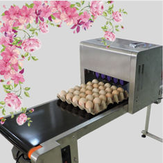 China Printing 120000 Eggs / H Egg Stamping Machine For Bar Code Or Graphic LOGO supplier
