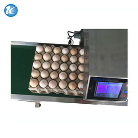 China Automatic Egg Inkjet Date Code Printer , Inkjet Marking Equipment supplier