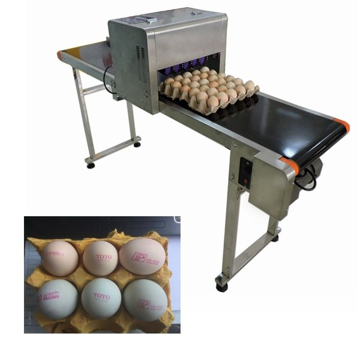 China Egg Expiration Date Stamp Machine With Various Colors Food Grade Ink To Choose Supplier