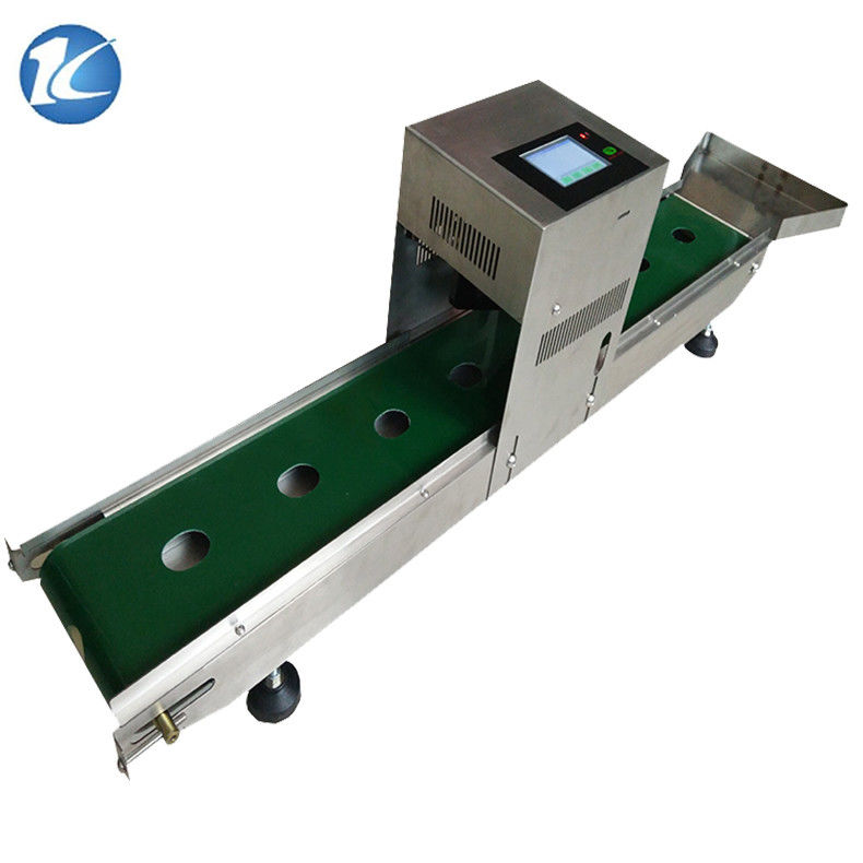 China Industrial Continuous Inkjet Printers Expiry Date Stamp Machine 600dpi Resolution Supplier