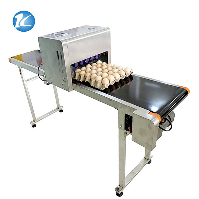 High Resolution Color Ink Egg Printing Machine Easy To Operate